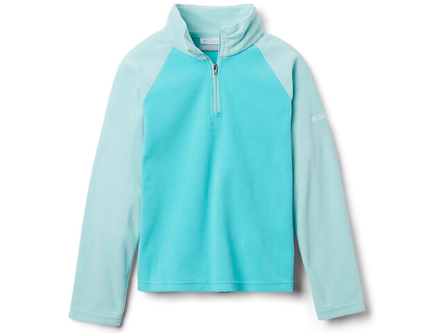 Columbia Glacial Pull Polaire Demi-zip Fille, geyser/spray